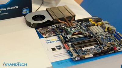 Thin Mini-ITX and Heatsink