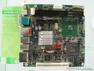 AOpen's i915GMt-FA Pentium M Mini-ITX