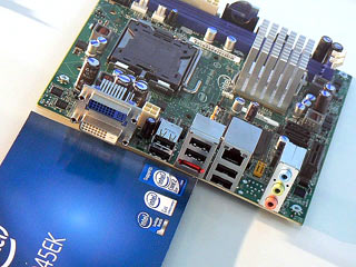 Intel DQ45EK Mini-ITX board