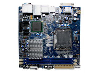Intel DG45FC Mini-ITX board