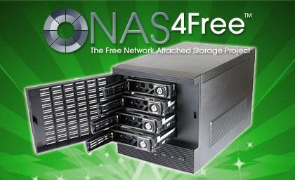 Installing NAS4Free